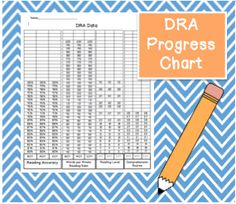 This chart is for students to monitor their reading accuracy, words per minute rate, reading level, and comprehension scores. This chart is also perfect because it allows students to see their progression throughout the year.