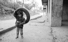 The second series of childhood poverty, war 26783