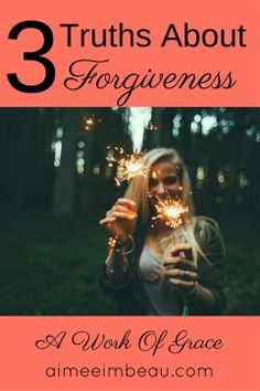 How do you know when you have truly forgiven someone?  What does forgiveness look like?  Why is it so hard?  These are questions I have wrestled with many times through my healing.  In this post, I talk about 3 truths on forgiveness. 3 Truths About Forgiveness
