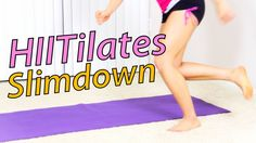 HIIT: HIITilates New Year Slimdown Workout (14 Min)