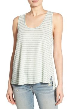 Stem Pleat Back Tank available at #Nordstrom