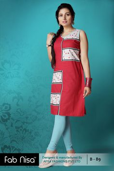 Fab Nisa Casual Kurti for 799/- only  www.fabnisa.in