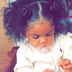 Cute Hairstyles For Curly Hair Babies | Cute Hairstyle