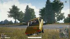 Perfect Car Strat for the Chicken Dinner in PUBG