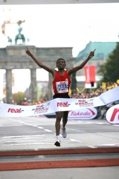 Haile Gebrselassie Breaks World Record at the Berlin Marathon » Athletics News » Take The Magic Step®