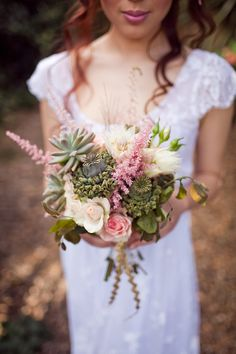 Garden Bohemian Wedding Inspiration