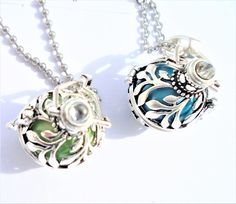 Angel Caller Bola Maternity Pregnancy Necklace    Necklace listing is for: a bola necklaces-  cage, #nursing necklace #nursingnecklace #angelcaller
