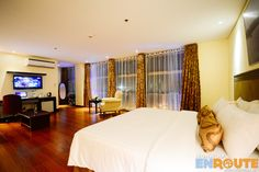 A stay at the Junior Suite of Fersal Hotel Puerto Princesa Palawan Puerto Princesa Palawan, Philippines Palawan, Curtains, Furniture, Home Decor, Blinds, Decoration Home, Room Decor, Home Furnishings