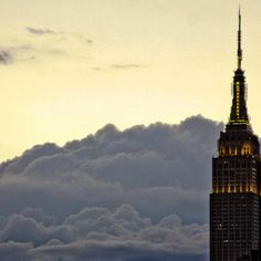 NYC. Ominous Sky Building // by Amy Coady