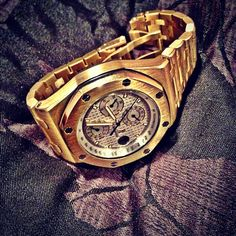 Get the limited edition Audemars it could be