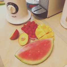 Pour faire un bon Smoothie il faut de bons fruits...
