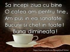 Coffee Time, Morning Coffee, Good Morning Greetings, Facebook, Peace And Love, Messages, Tea, Motivation, Tableware