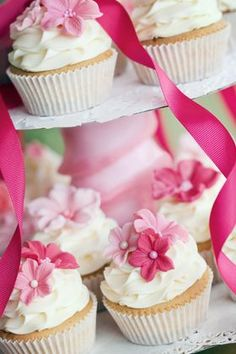 Cupcakes mit tollen Verzierungen - Trends