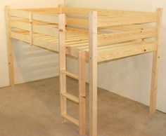 molly 2ft 6 small single short length solid pine cabin bed