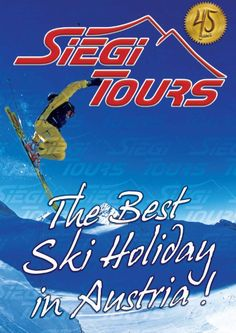 Siegi Tours has specialized in organizing ski, snowboard, cross-country, golf, adventure and wellness holidays and is proud to offer it's services to an international clientel for 45 years now. We know exactly what our customers expect and created a . Tours Holidays, Best Skis, 45 Years, Cross Country, Snowboard, Austria, Schools, Skiing, Organizing