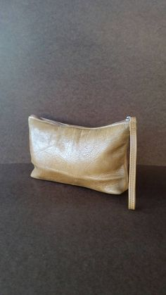 Distressed Leather Clutch Bag Wristlet Bags Trendy Pouch