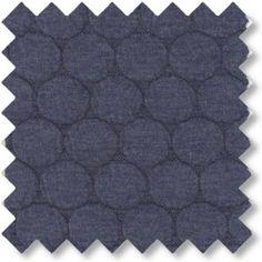 Jersey quilt m. bobbeleffekt Støvet blå  82% POLYESTER, 14% VISCOSE, 4% ELASTAN Bredde: 145 cm.  - stof2000.dk