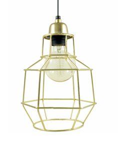 On-Interiör Hanglamp Cabel Goud