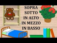 Sopra, sotto, in alto, in mezzo, in basso - YouTube Digital Story, Montessori, Coding, Activities, Education, Math, School, Youtube, Autism Activities