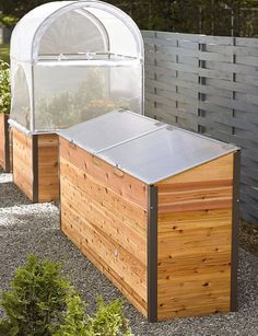 Raised Bed with Cold Frame cover