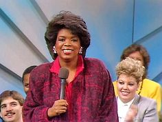 The Oprah Winfrey Show was created in 1986. Many people tuned in and still tune in to watch Oprah's talk show.