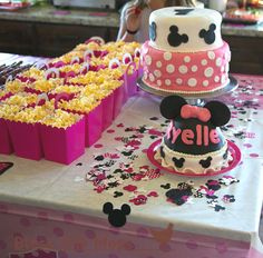 Minnie Mouse/Mickey's clubhouse Birthday Party food ideas