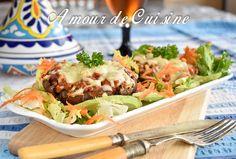 champignon farcis a la bolognaise - Amour de cuisine