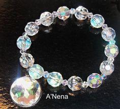 BraceletOutstandingPure Crystal by ANenaJewelry on Etsy, $40.00