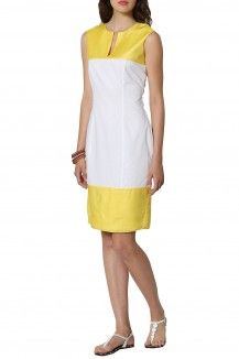 Color Block Sheath Dress By Michelle Salins  Rs. 6,955
