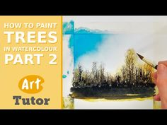 How to Paint Trees in Watercolour - Part 2 ★ || CHARACTER DESIGN REFERENCES (https://www.facebook.com/CharacterDesignReferences & https://www.pinterest.com/characterdesigh) • Love Character Design? Join the Character Design Challenge (link→ https://www.facebook.com/groups/CharacterDesignChallenge) Share your unique vision of a theme, promote your art in a community of over 25.000 artists! || ★