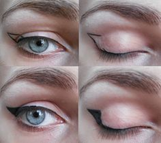 The Beauty Gremlin: Hooded eye | Winged Eyeliner