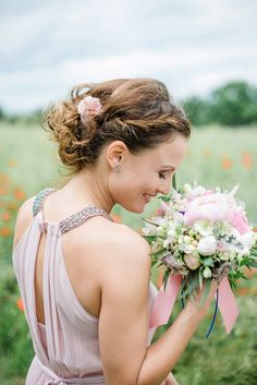 Romantic Bridal Updo | Baru La Photo on @glamourandgrace via @aislesociety
