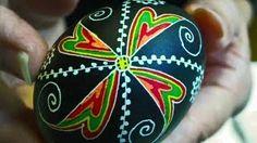 Learn How to Dye & Color Easter Eggs - Decorate Ukrainian Pysanky Pysanka for the Beginner - Egg Art, via YouTube.