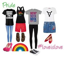 """""""Pride"""" by katiecholm ❤ liked on Polyvore featuring Anya Hindmarch, River Island, Paige Denim, Frame Denim, MaxMara, MANGO, Abercrombie & Fitch, Converse, Wet Seal and pride"""