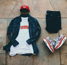 Behind The Scenes By fvshionhub Tomboy Fashion, Streetwear Fashion, Sneakers Fashion, Mens Fashion, Dope Outfits For Guys, Boy Outfits, Flannel Outfits, Male Clothes, Hype Clothing