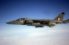 Indian Air Force Sepecat Jaguar attack aircraft.