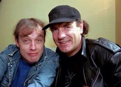 Angus Young y Brian Johnson⚡️