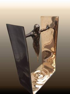 additional image additional imageYou can find Abstract sculpture and more on our website Abstract Sculpture, Bronze Sculpture, Ceramic Sculptures, Contemporary Sculpture, Art Moderne, Art Graphique, Surreal Art, Installation Art, Metal Art
