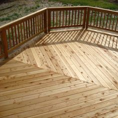 Chevron Decking (Redwood)