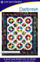 Daybreak Quilt Pattern using a Strip Set | Let'sMake Quilting Tutorial - YouTube