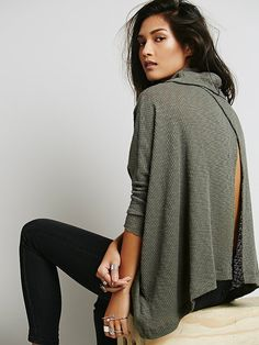 Free People World Traveler Pull Over, $68.00