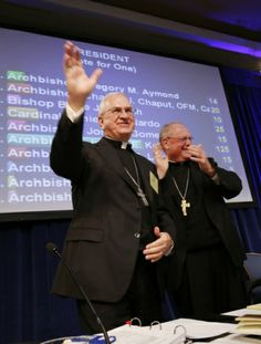 Archbishop Kurtz of Louisville is elected new president of the U.S. bishops' conference