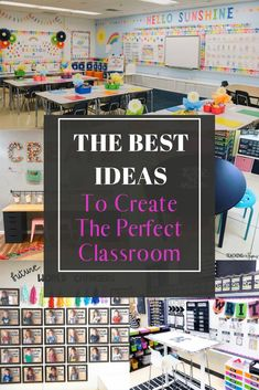 Looking for some new classroom ideas? Find the best ideas for classroom organization, classroom decoration, classroom management, fun ideas and more.  Incorporate the last idea in your class and it will change your life! #classroomideas Preschool Classroom Decor, Classroom Walls, New Classroom, Classroom Community, Classroom Design, Kindergarten Classroom, Classroom Themes, Classroom Organization, Classroom Management