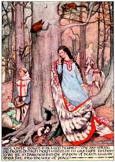 Art by Maxwell Armfield (1895) from FAIRY TALES FROM HANS ANDERSEN.  Source:  http://archive.org/details/faerytalesfromha00ande