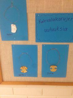 Kalevalakorujen suunnittelua ohkolevystä Coasters, Coaster