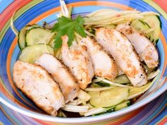 Receta   Ensalada de pollo picante - canalcocina.es
