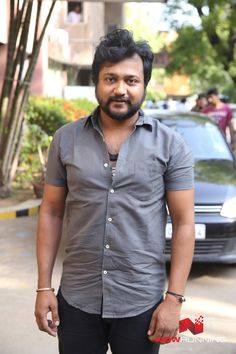 Bobby Simha at Iraivi Promotions - Auto Flag off Event
