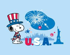 Snoopy in USA