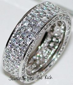 princess cut half eternity ring wide band - Google Search