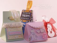 Video Tutorial on Triangle Box » 3D Projects » Stamping » Tutorials » Amazing Paper Grace